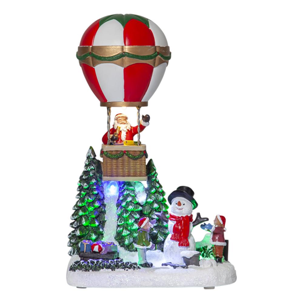 Jullandskap Merryville Luftballong