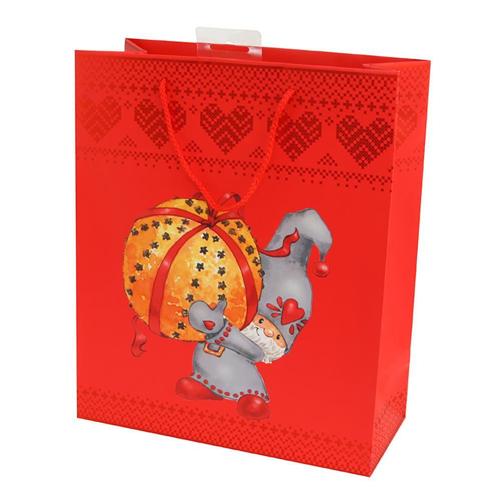 Julpåse Tomte med Apelsin - 1-pack