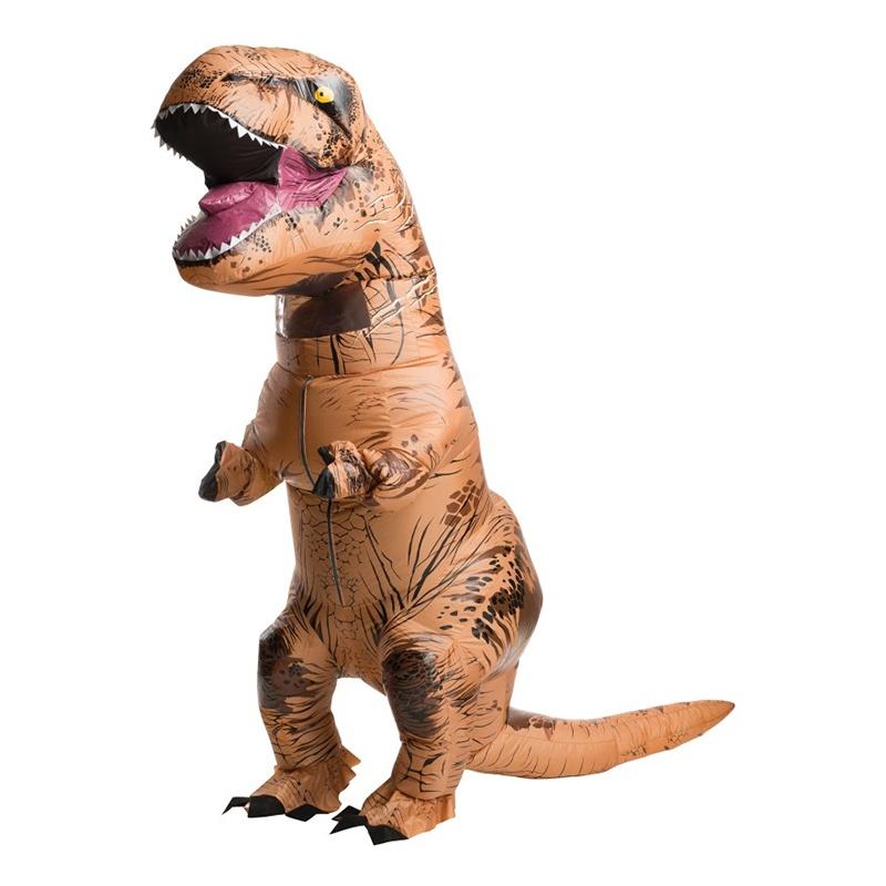 Dinosauriedräkter - Uppblåsbar T-Rex Maskeraddräkt - One size