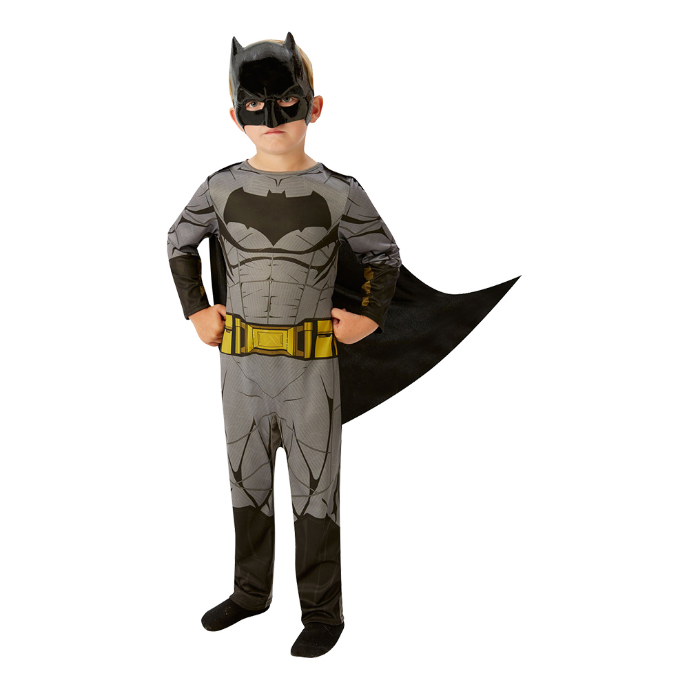 Justice League Batman Barn Maskeraddräkt - Small