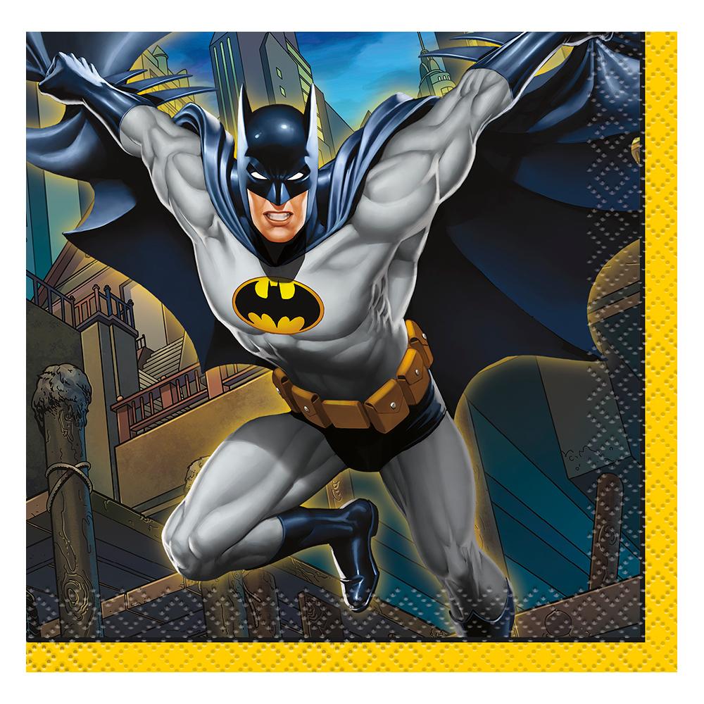 Kaffeservetter Batman - 16-pack