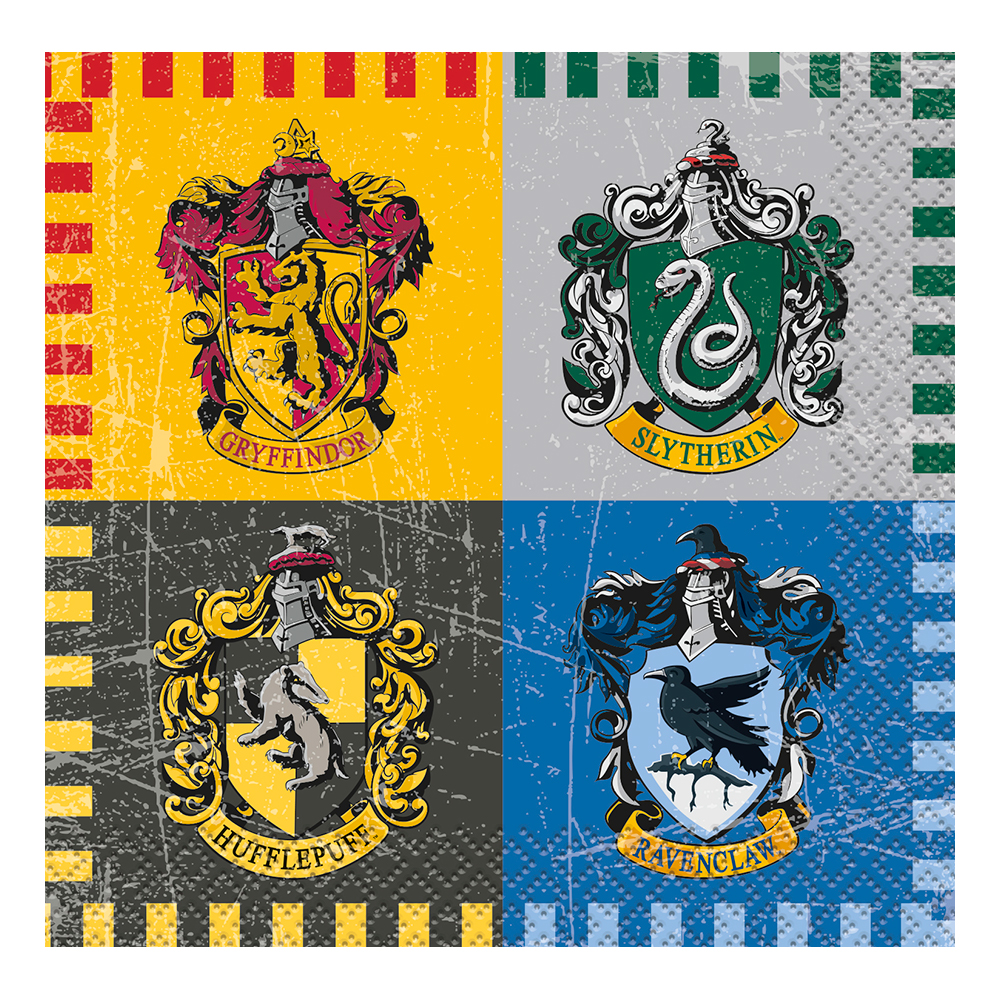 Kaffeservetter Harry Potter - 16-pack