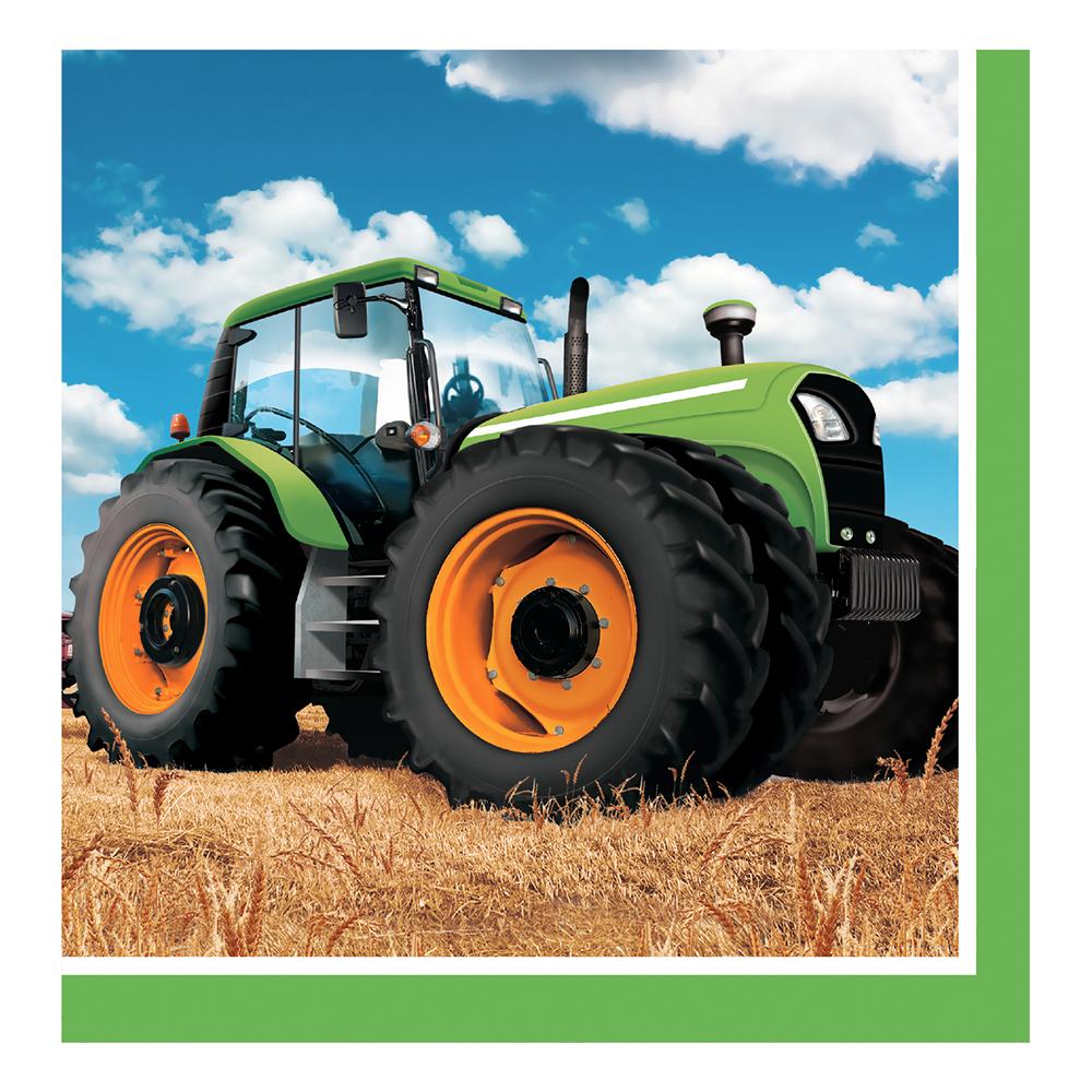 Kaffeservetter Tractor Time - 16-pack