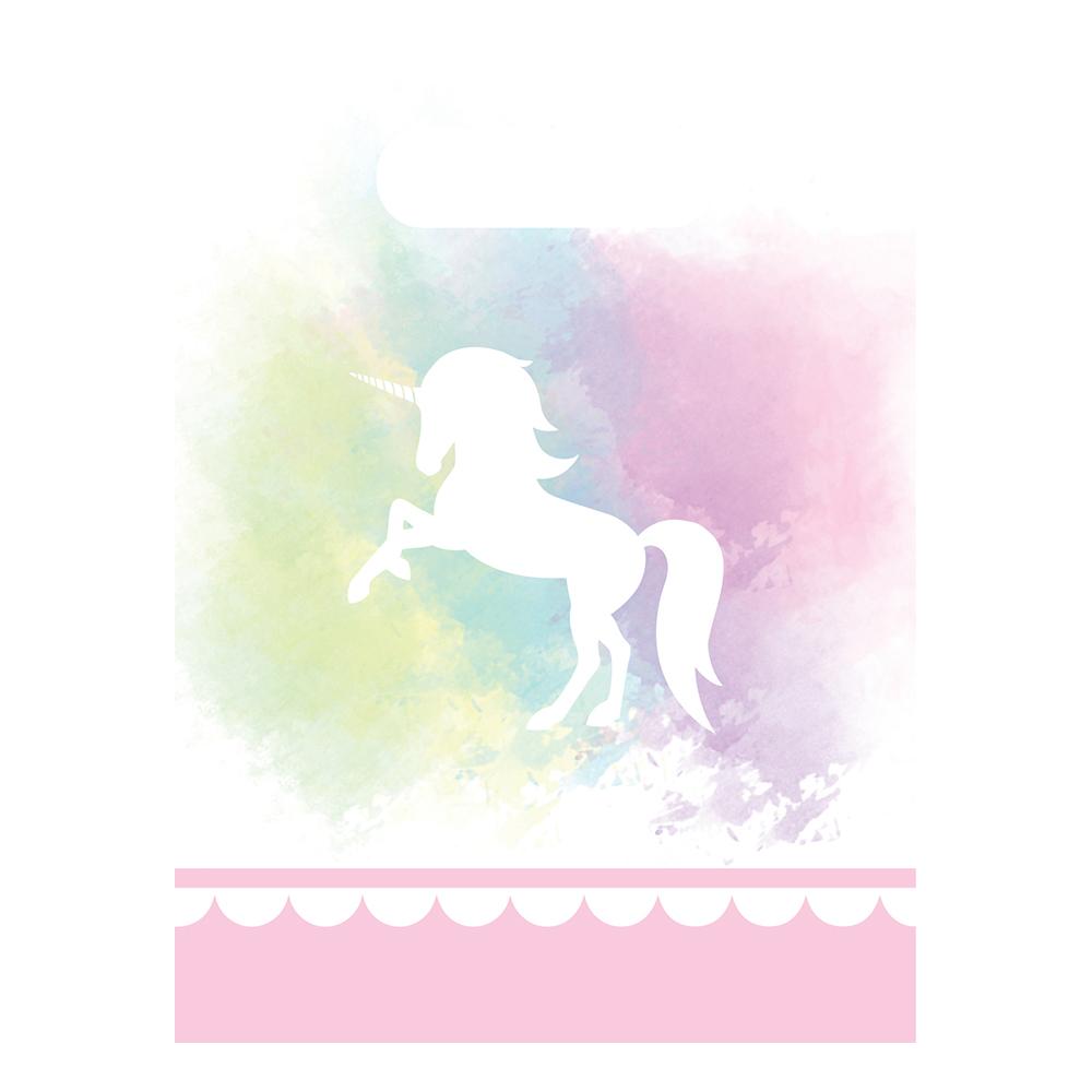 Kalaspåsar Believe in Unicorns - 6-pack