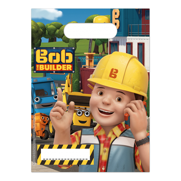 Kalaspåsar Byggare Bob - 6-pack