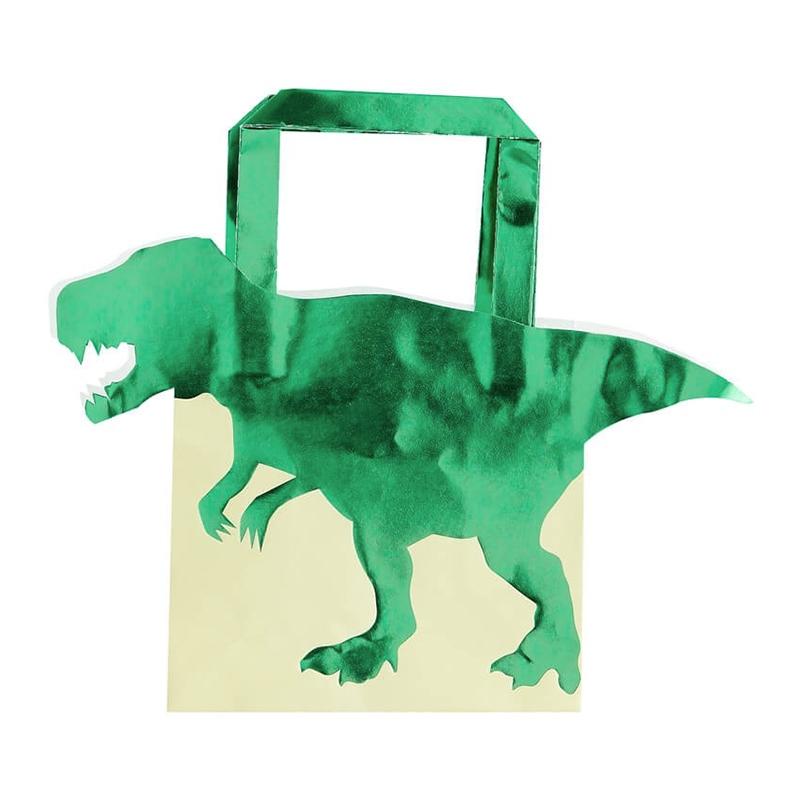 Dinosaurie - Kalaspåsar Dinosaurie Metallic - 5-pack