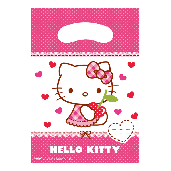 Kalaspåsar Hello Kitty - 6-pack