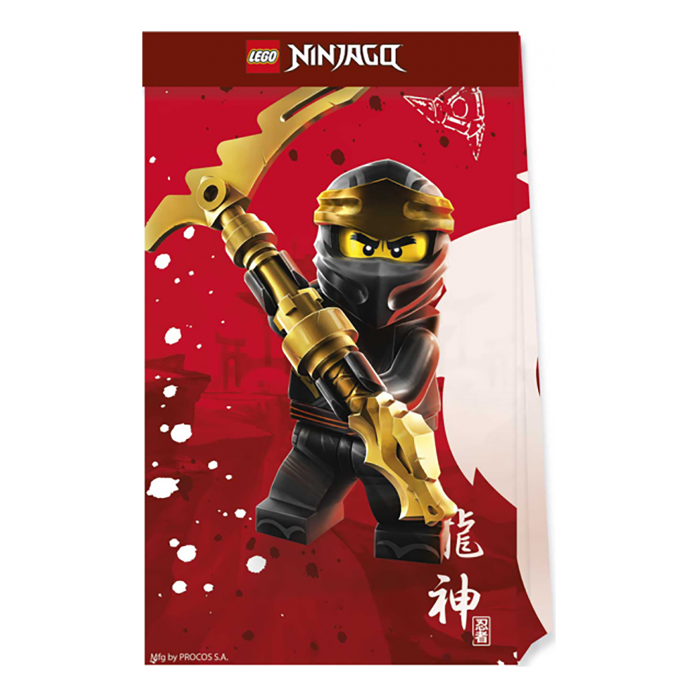 Kalaspåsar Lego City - 4-pack