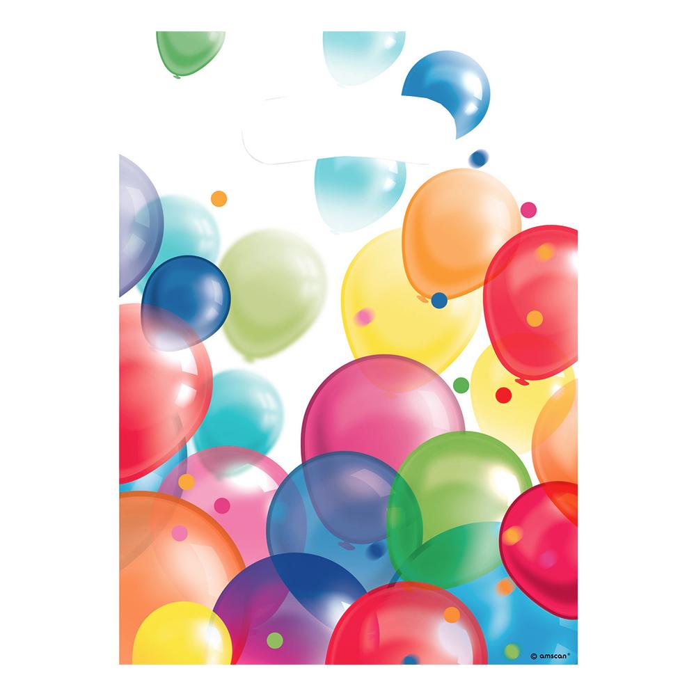 Kalaspåsar med Ballonger - 8-pack