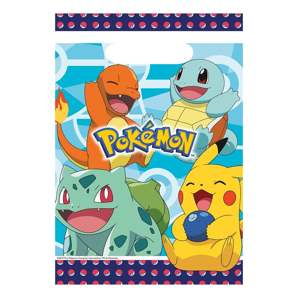 Kalaspåsar Pokémon - 8-pack