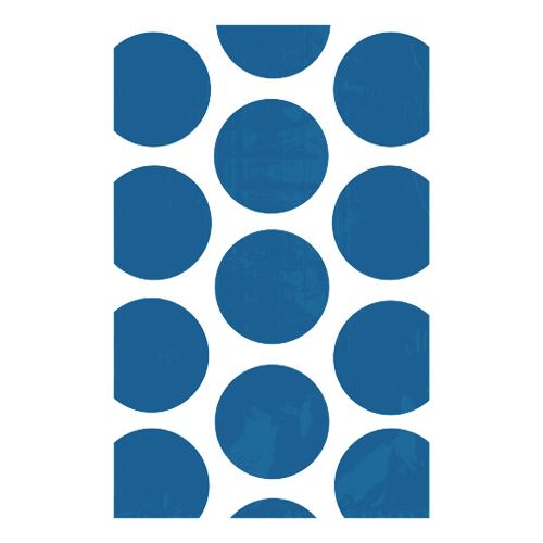 Kalaspåsar Polka Dot Mörkblå - 10-pack