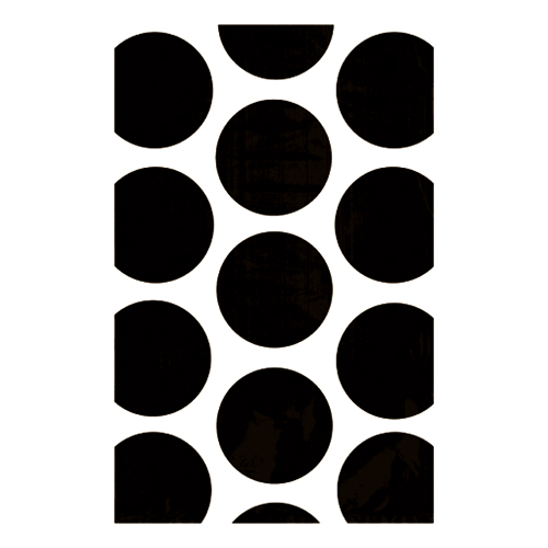 Kalaspåsar Polka Dot Svarta - 10-pack