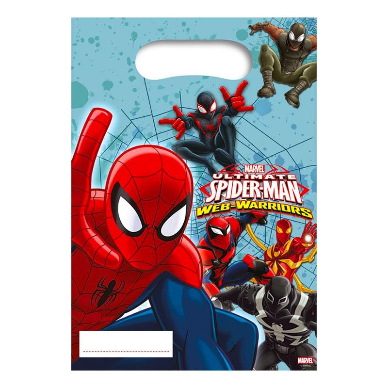 Kalaspåsar Spider-Man - 6-pack