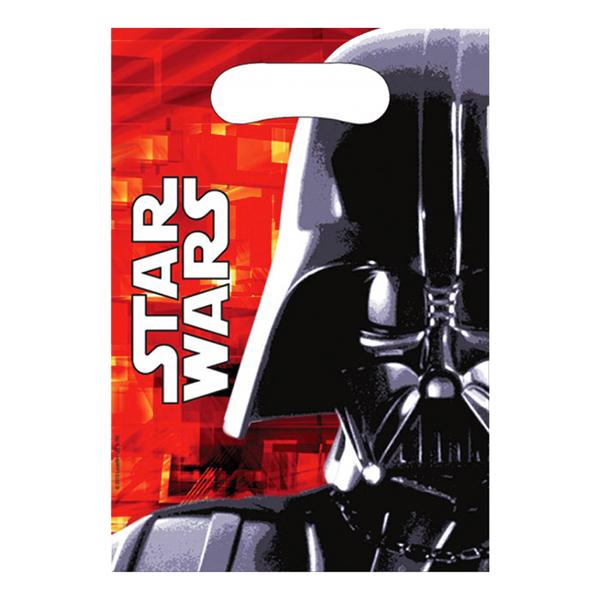 Kalaspåsar Star Wars Darth Vader - 6-pack