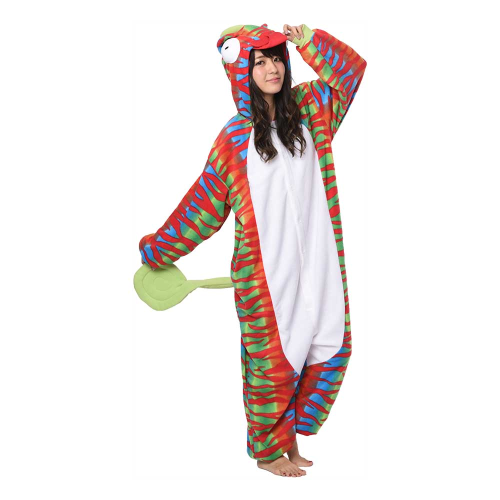 Kameleont Kigurumi - Medium