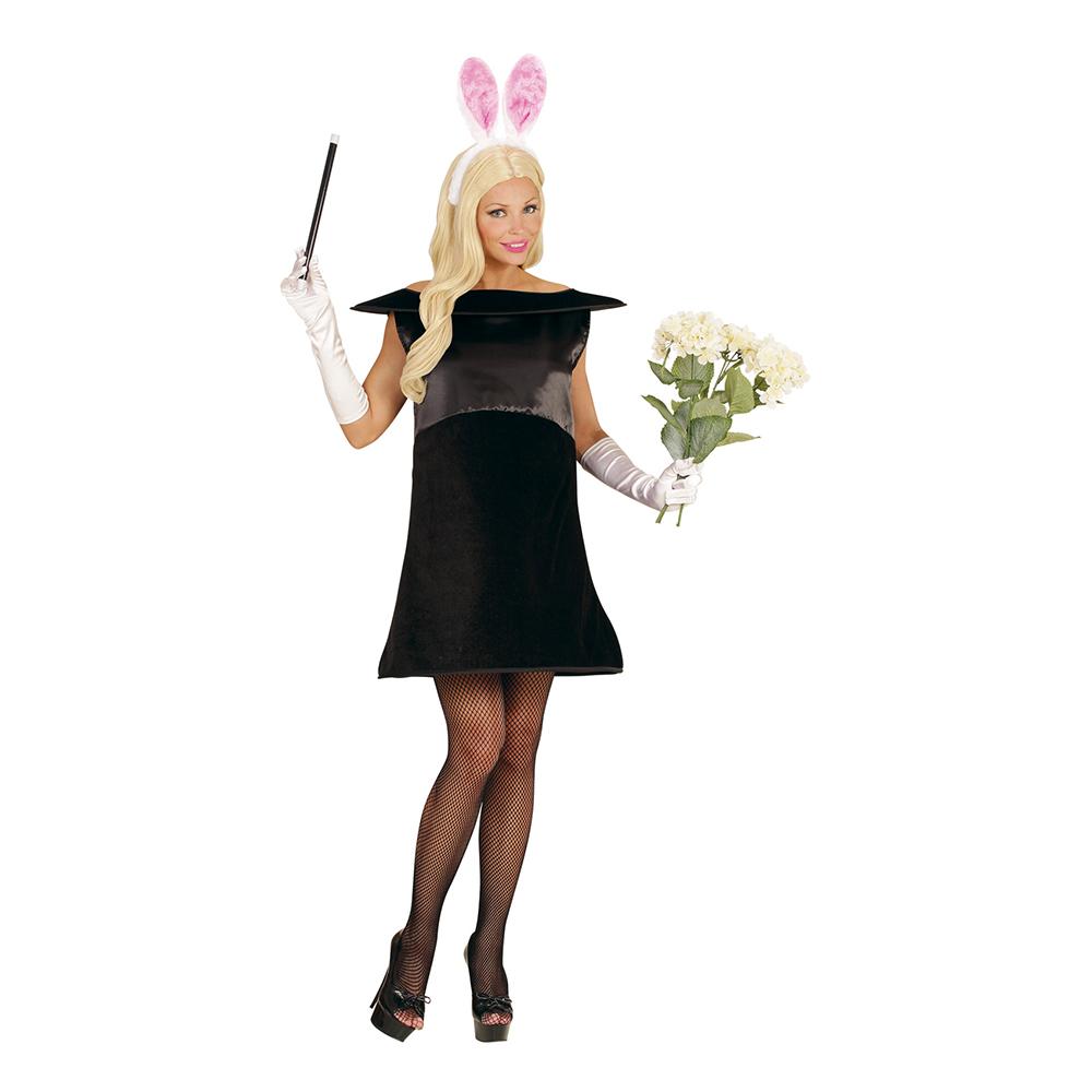 Kanin-produkter - Kanin i Trollkarlshatt Maskeraddräkt - Small/Medium