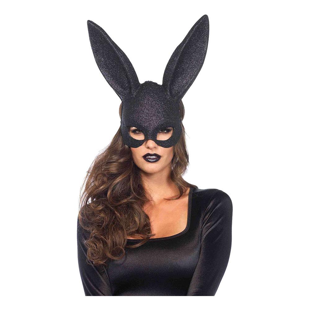 Kanin-produkter - Kanin Teatermask Svart Deluxe - One size