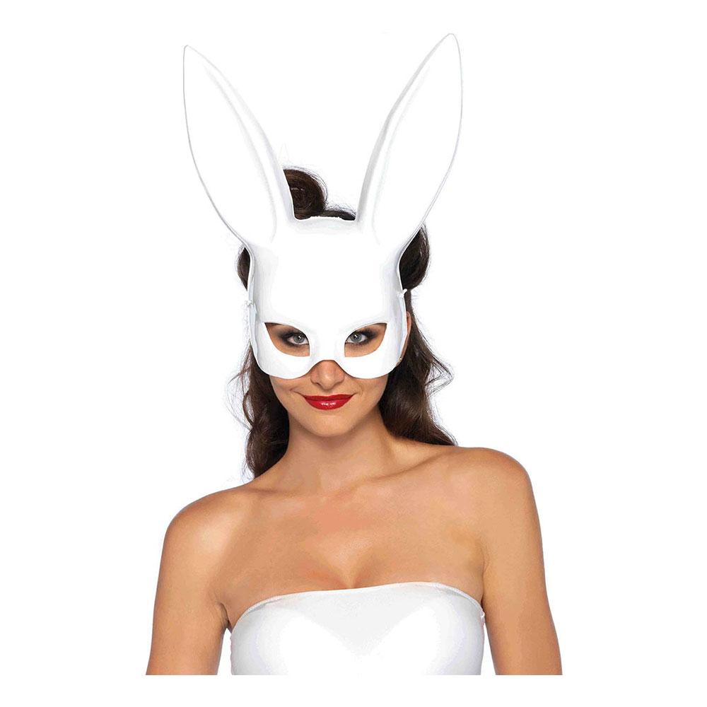 Kanin-produkter - Kanin Teatermask Vit Deluxe - One size
