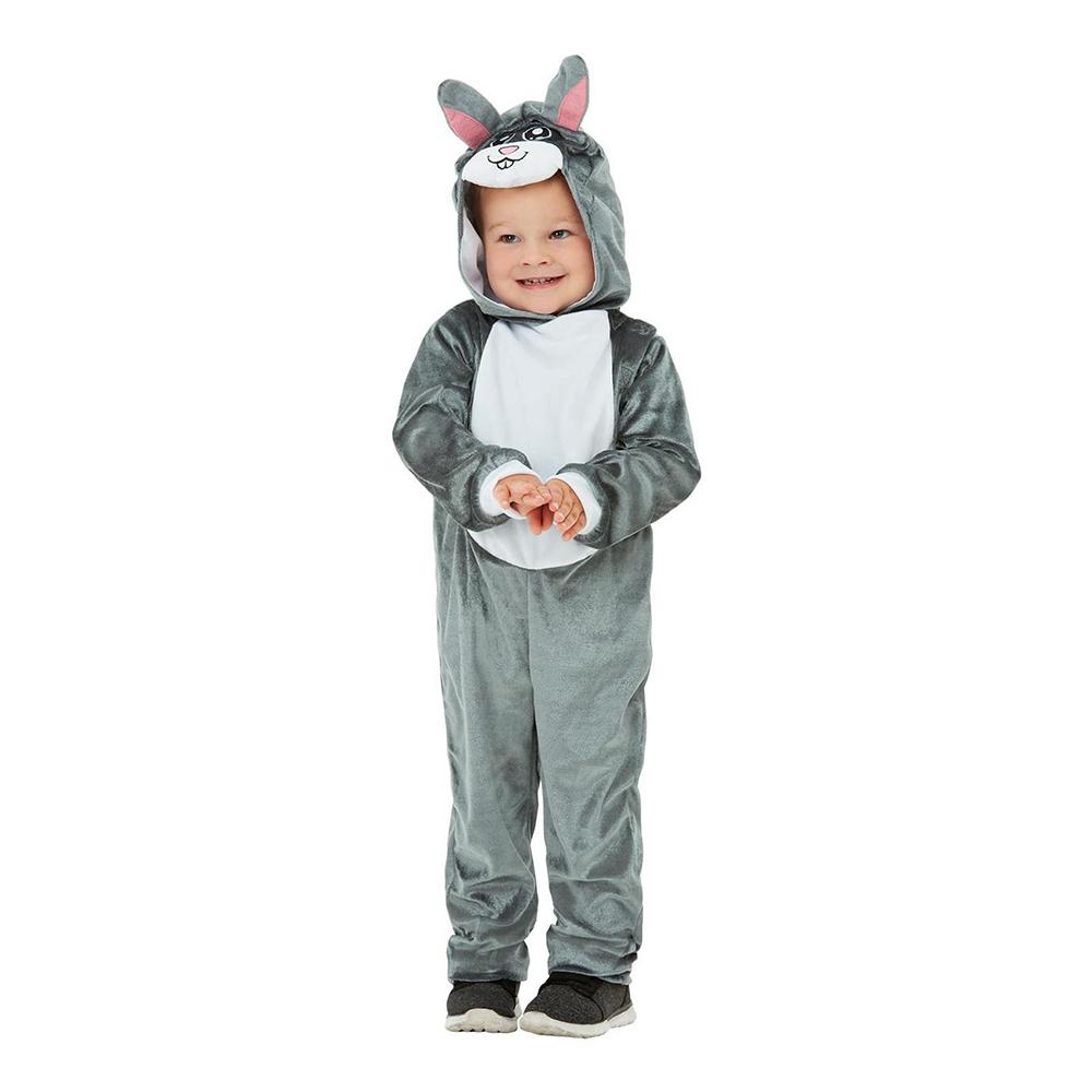 Kanin Toddler Maskeraddräkt - 1-2 år