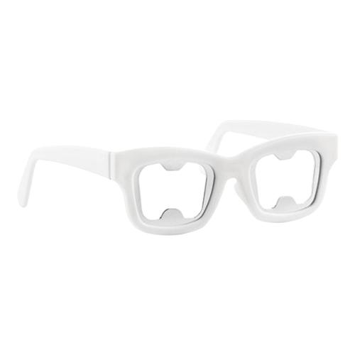 Kapsylöppnare Glasögon - Vit