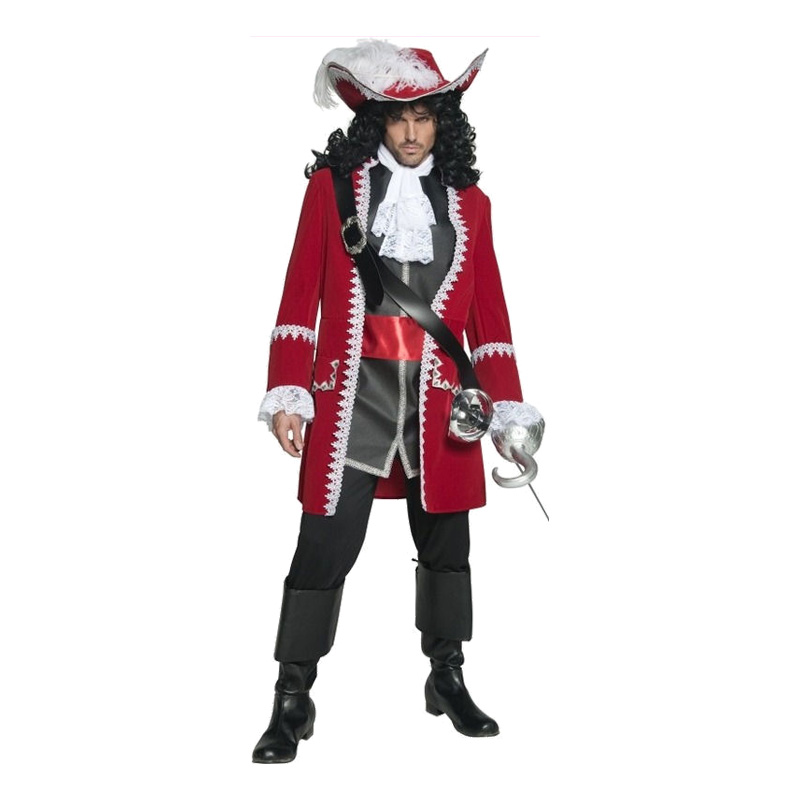 Kapten Krok Maskeraddräkt - One size