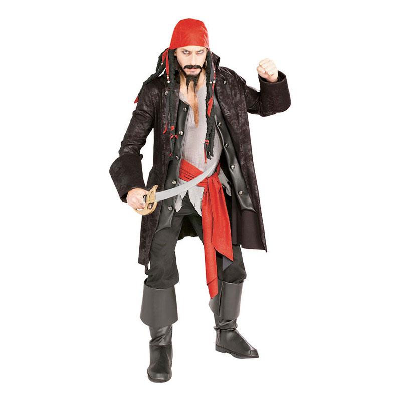 Kapten Mördarpirat Maskeraddräkt - One size
