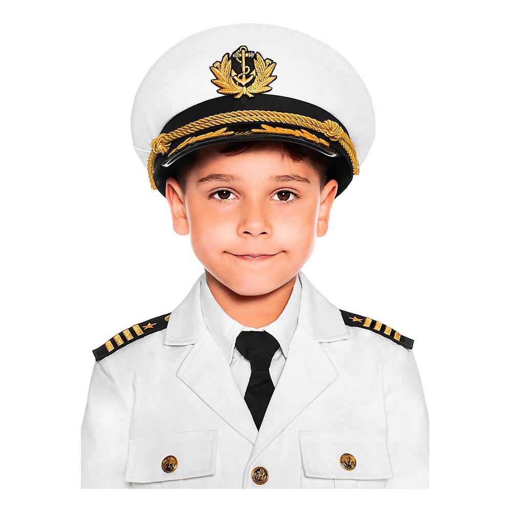 Kaptenmössa för Barn - One size