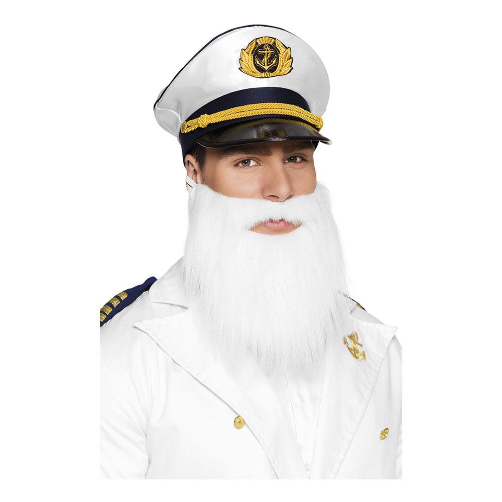 Kaptenskägg Vitt