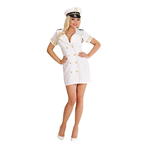 Kaptensklänning Maskeraddräkt - Medium