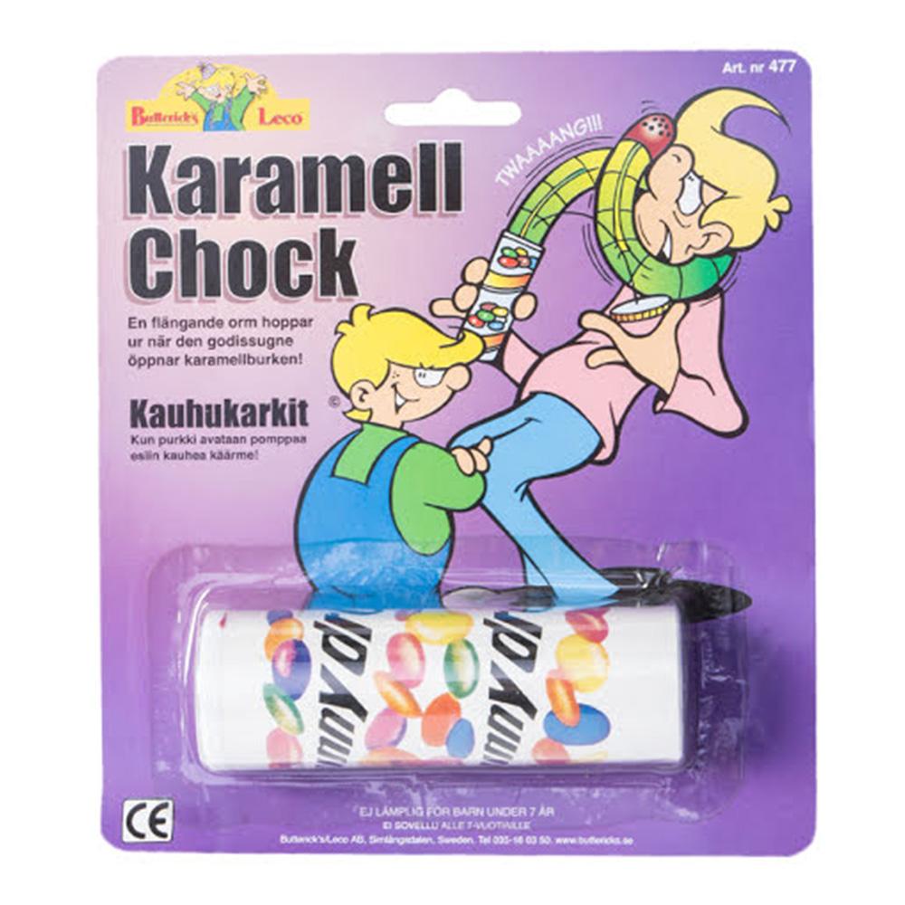 Karamellchock med Orm