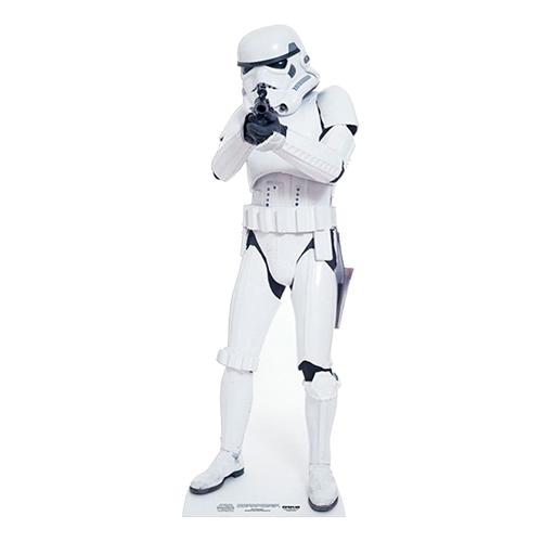 Kartongfigur Stormtrooper Mini