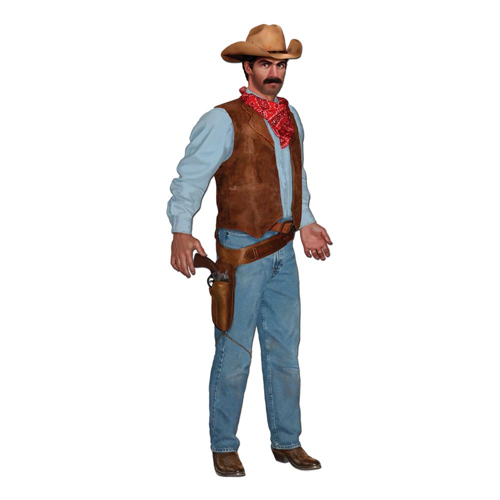 Kartongfigur Tecknad Cowboy