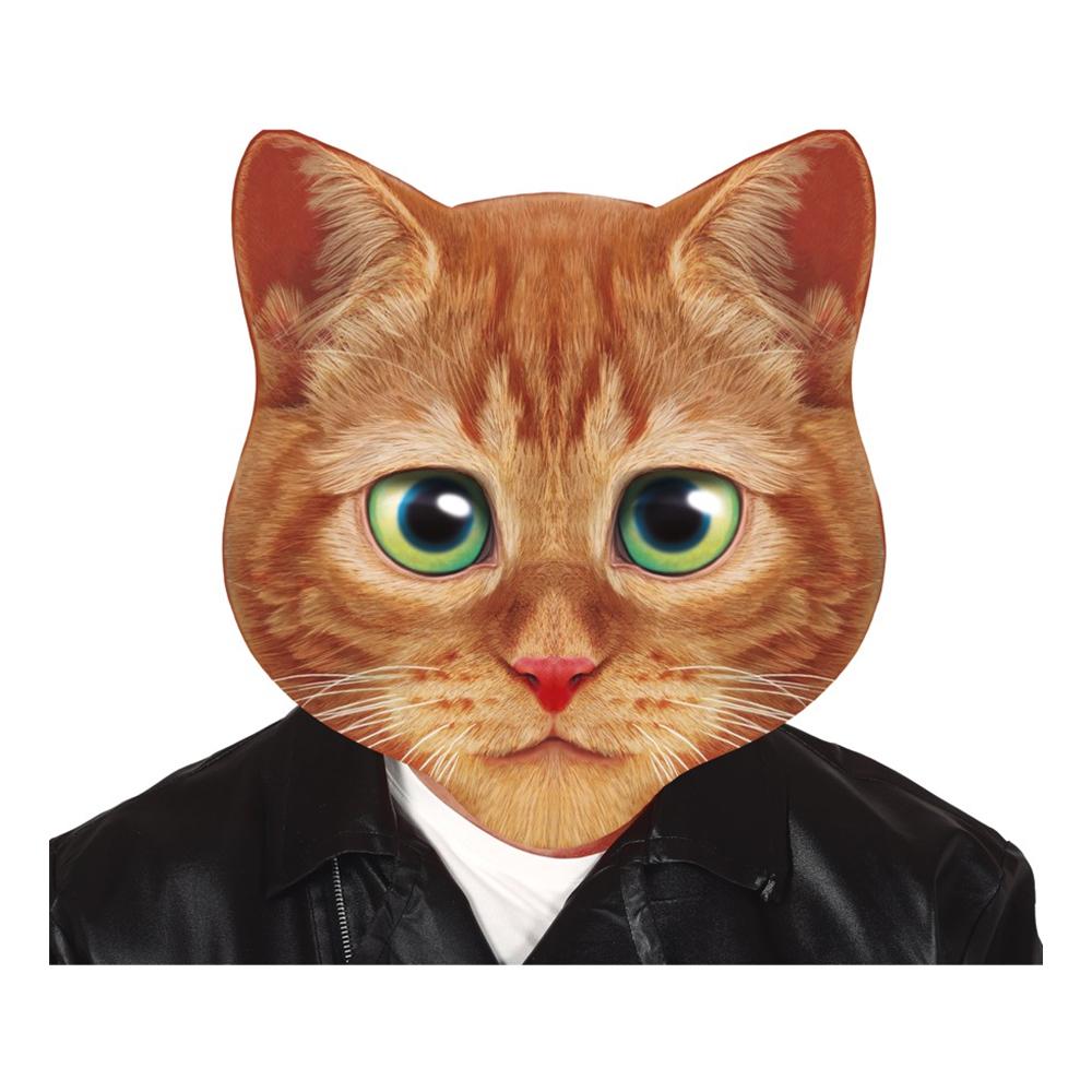 Katt - Katt Gigantisk Mask - One size
