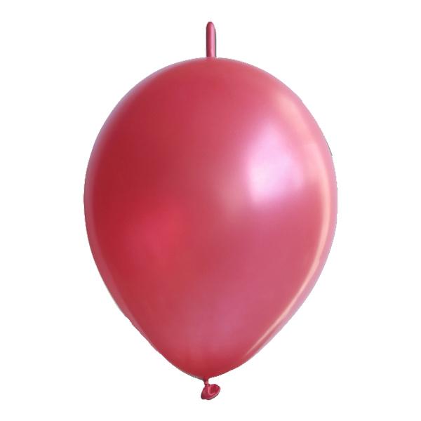 Kedjeballonger Röda - 10-pack | Hem//Festartiklar//Ballonger//Latexballonger | Partyoutlet