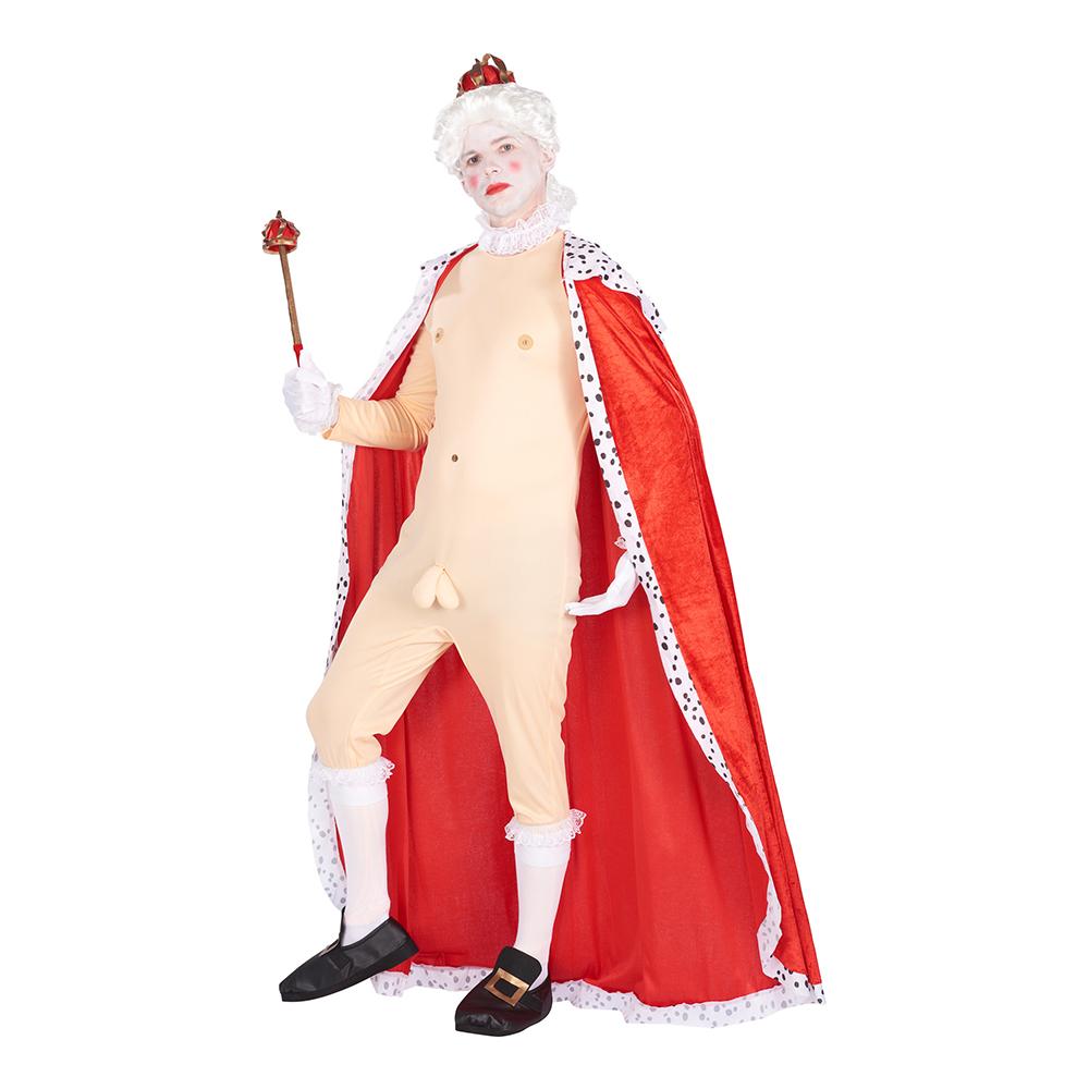 Kejsarens Nya Kläder Maskeraddräkt - Standard