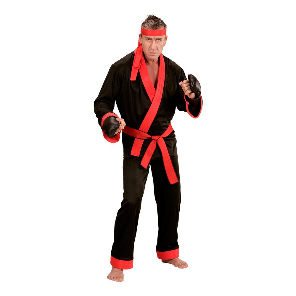 Kickboxare Maskeraddräkt - Small