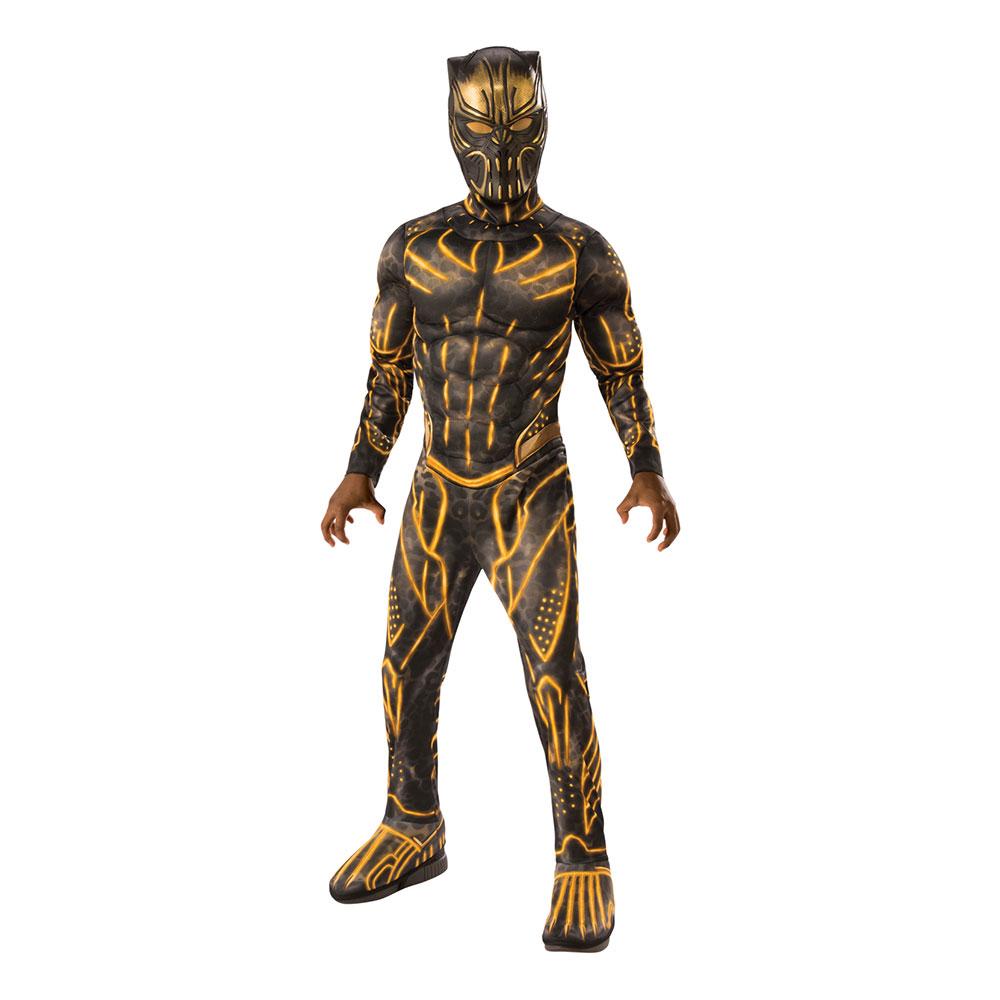 Utklädningsdräkter - Killmonger Deluxe Barn Maskeraddräkt - Medium