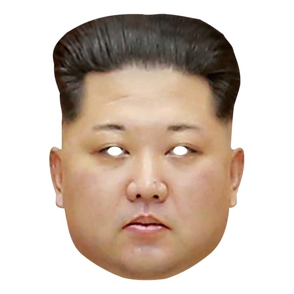 Kim Jong Un Pappmask