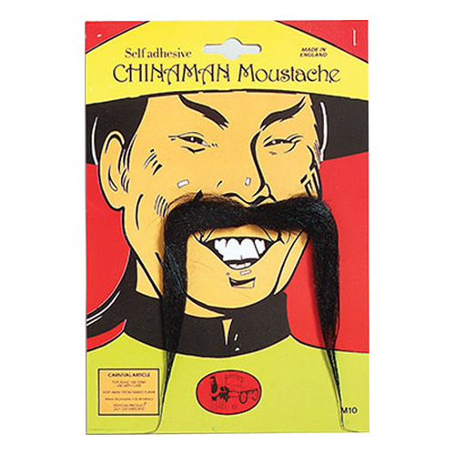 Kinesisk Man Mustasch