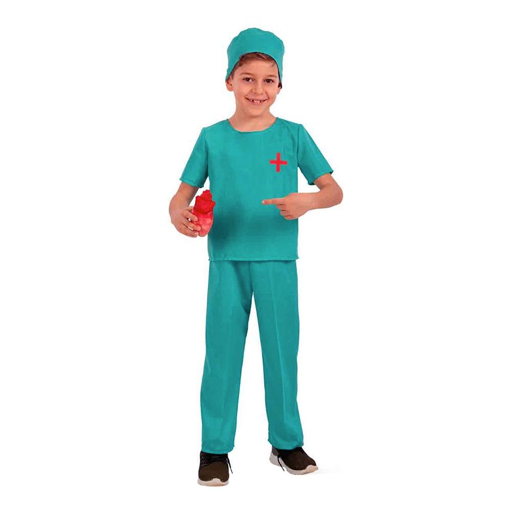 Kirurg Barn Maskeraddräkt - 6-7 år