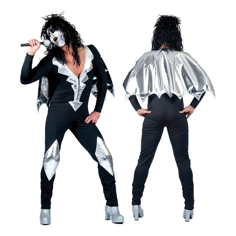 Kiss Maskeraddräkt - Standard