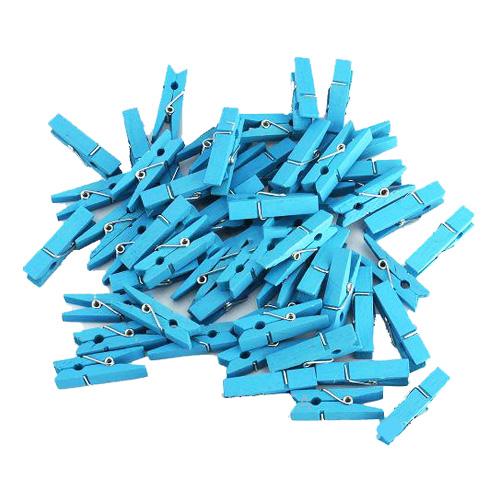 Klädnypor Mini Ljusblåa