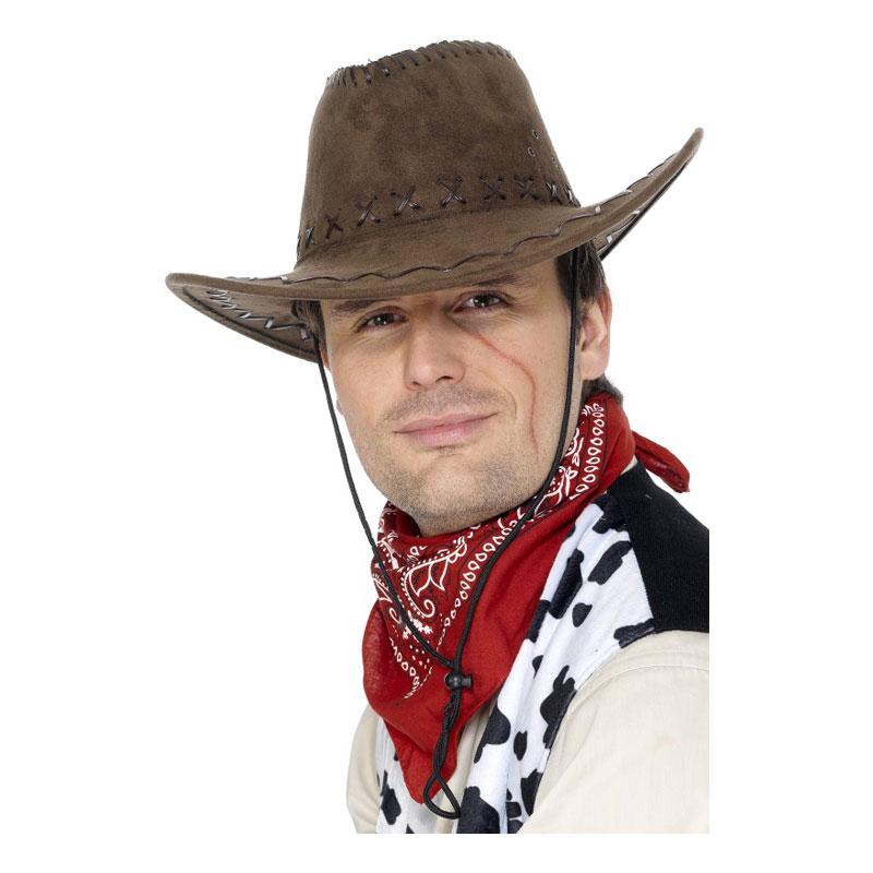 Klassisk Cowboyhatt Brun - One size
