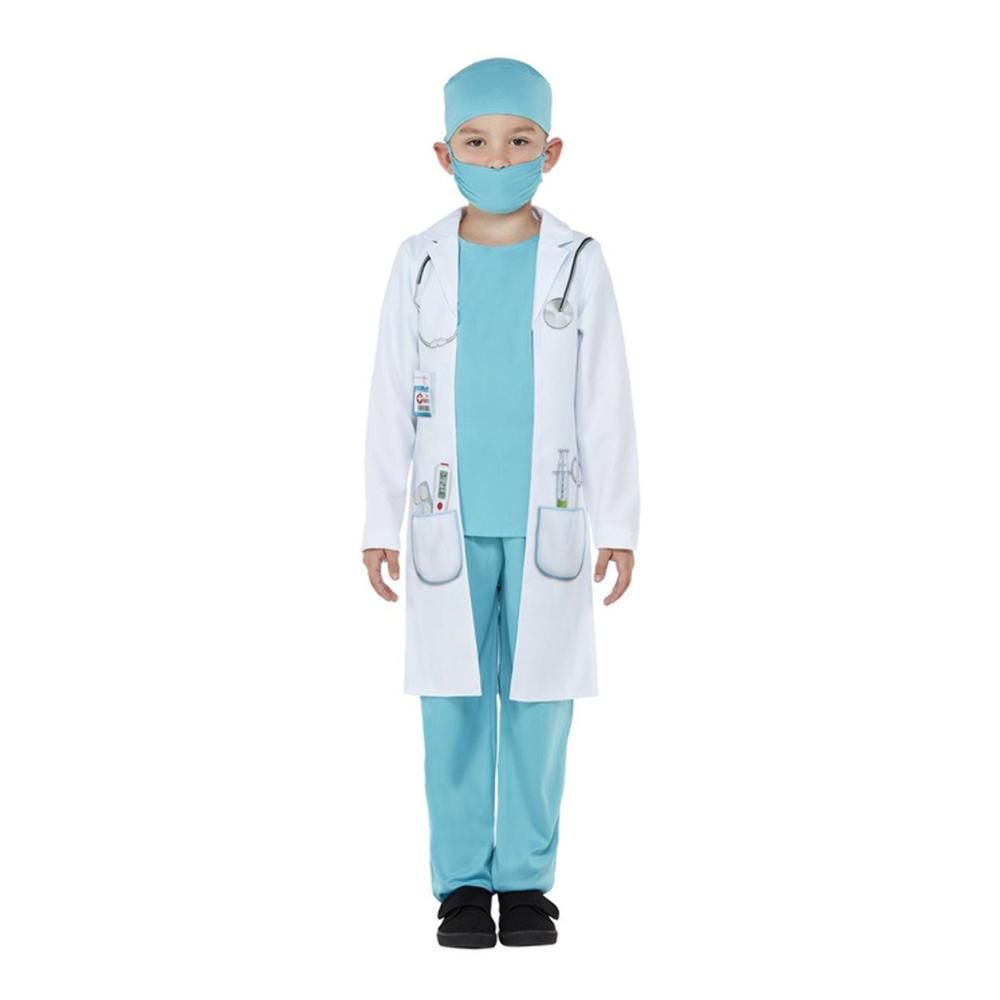 Klassisk Doktor Barn Maskeraddräkt - Medium