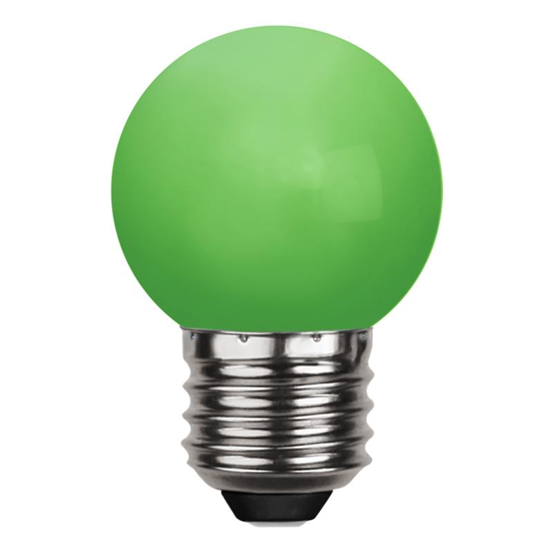 Klotlampa E27 LED - Vit