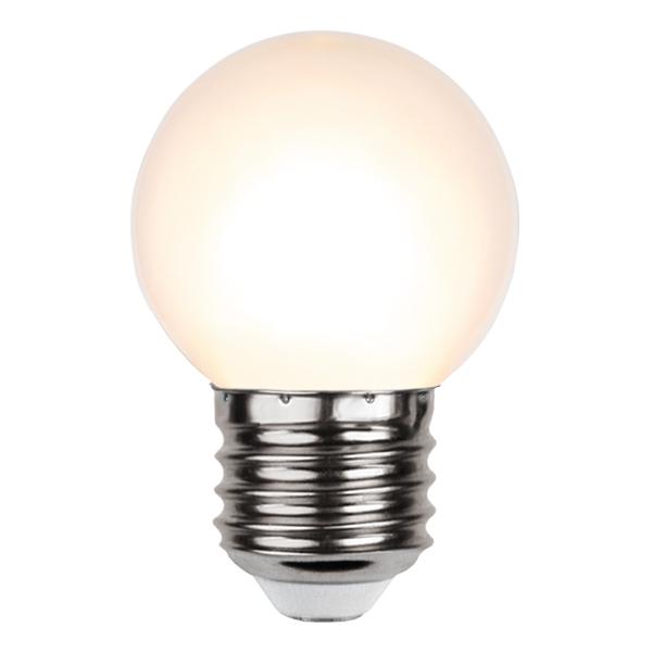 Klotlampa E27 LED - Grön