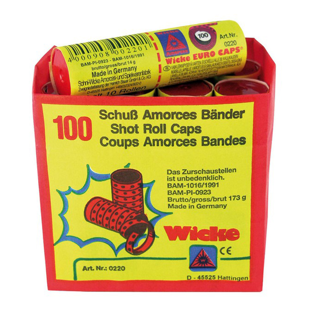 Knallpulver 100-skotts - 144-pack