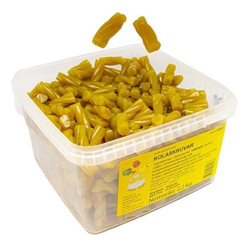 Kolaskruv Lösvikt i Burk - 2.2 kg