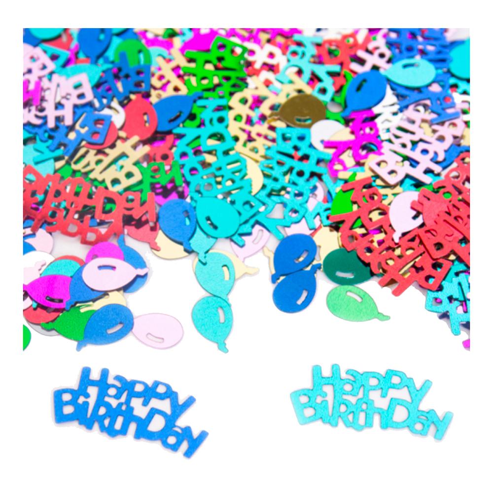 Konfetti Happy Birthday