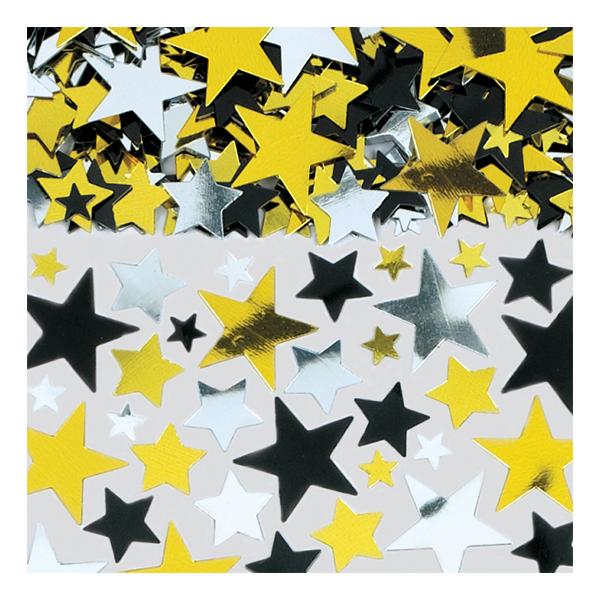 Konfetti Hollywood Stjärnor - 70 gram